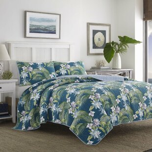 Southern Breeze Reversible Quilt Set by Tommy Bahama Bedding