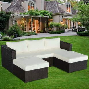 Marino 3 Piece Conversation Set with Cushions