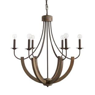 Gracie Oaks Verona 6-Light Candle-Style C..