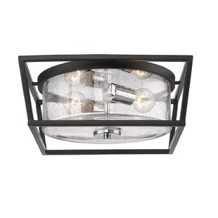 Look for Boswell 2-Light Flush Mount By Gracie Oaks