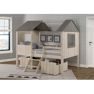 Schock Full House Twin Loft Bed with Drawers by