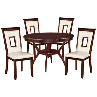 Rutan 5 Piece Dining Set Red Barrel Studio