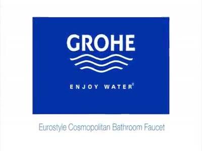 grohe eurostyle double handle widespread bathroom faucet u0026 reviews wayfair
