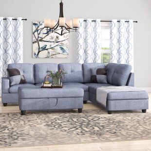 Fava Sectional with Ottoman