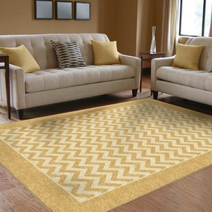Rochester Yellow Indoor/Outdoor Area Rug