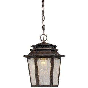 Budget Wickford Bay 1-Light Outdoor Hanging Lantern By Minka Lavery