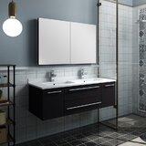 Lucera 48 Double Bathroom Vanity by Fresca