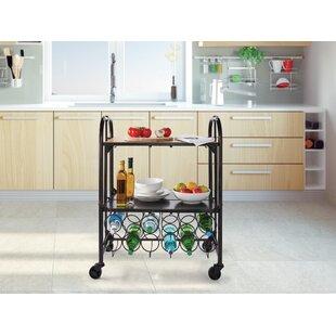 Folding Bar Cart