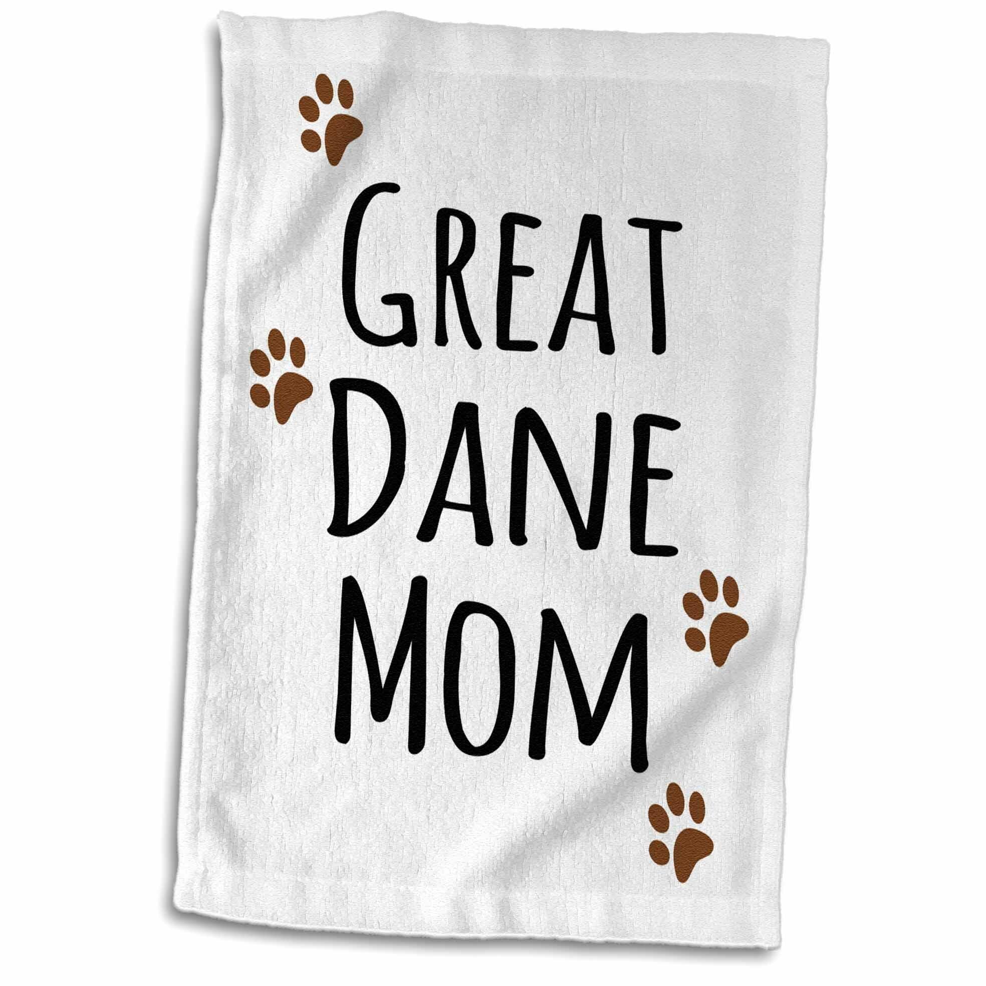 Symple Stuff Hanscom Great Dane Dog Mom Doggie By Breed Hand Towel Wayfair