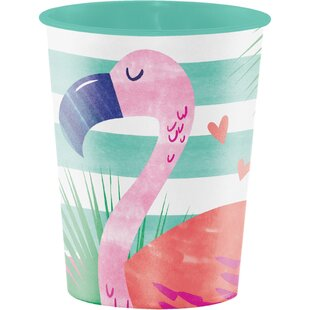 Pineapple Party Plastic Disposable Cup (Set of 8)