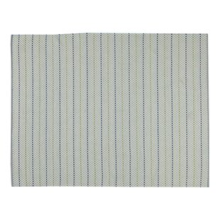 Hayes Hand-Woven Blue Indoor/Outdoor Area Rug