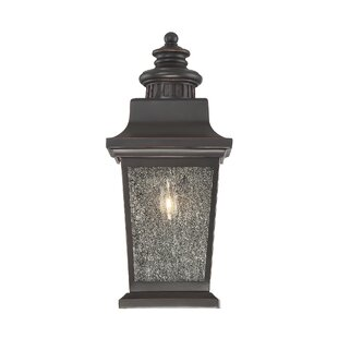 Deals Covarrubias 1-Light Outdoor Flush Mount By Darby Home Co
