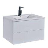 Lannion 30 Wall-Mounted Single Bathroom Vanity Set by Orren Ellis