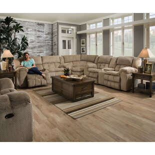 Darby Home Co Henning Simmons Upholstery Reclining Sectional