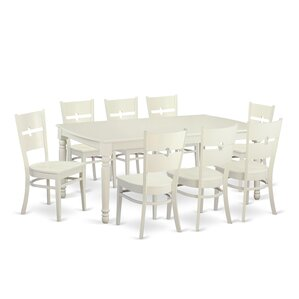 Dover 9 Piece Dining Set by Wooden Importers