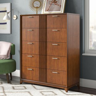 Affordable Caitlin 5 Drawer Double Dresser by Ivy Bronx