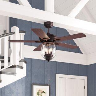 Darby Home Co Rueben 5 Blade Ceiling Fan