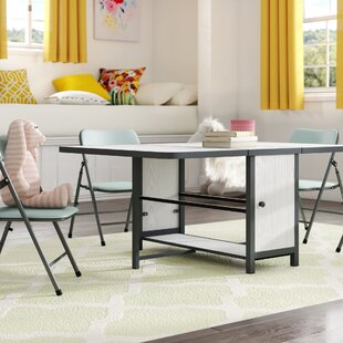Eola Kids 5 Piece Rectangular Table and Chair Set by Zoomie Kids