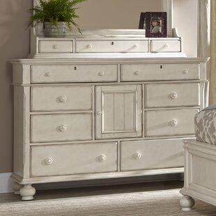 Newport 8 Drawers Combo Dresser
