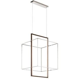 Schexnayder 2-Light LED Geometric Pendant by Orren Ellis