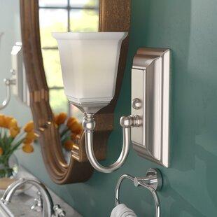 Bima 1-Light Bath Sconce by Three Posts