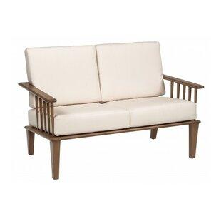Woodard Van Dyke Loveseat with Cushions