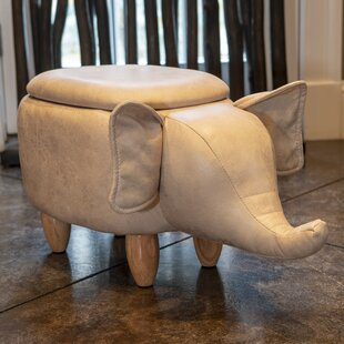 Clowers Elephant Toy Storage Bench by Zoomie Kids