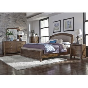 Loveryk Upholstered Storage Platform Bed