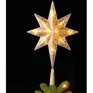 tree top star - Rustic Christmas Tree Topper