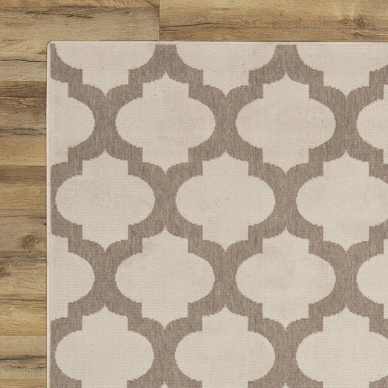 Odell Taupe Indoor Outdoor Area Rug