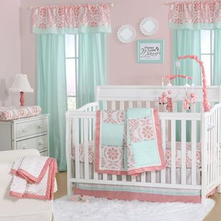 Best Deals Medallion Pretty Patch 4 Piece Crib Bedding Set By The Peanut Shell