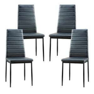 Rinan Upholstered Dining Chair (Set of 4) by Orren Ellis