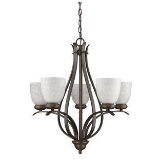 Bloomsbury Market Hemby 5-Light Shaded Chandelier