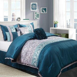 Juliana 7 Piece Comforter Set by Nanshing America, Inc New