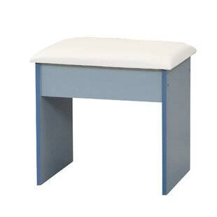 Corvi Dressing Table Stool By 17 Stories