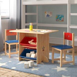 Star Children's 3 Piece Arts And Crafts Table And Chair Set By KidKraft