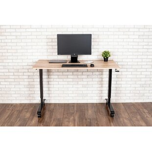 Burriss High-Speed Crank Adjustable Standing Desk