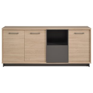 Bradan Contemporary Wood Sideboard