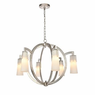 Latitude Run Sterns 6-Light Shaded Chandelier
