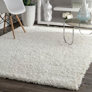 Beverly White Solid Area Rug