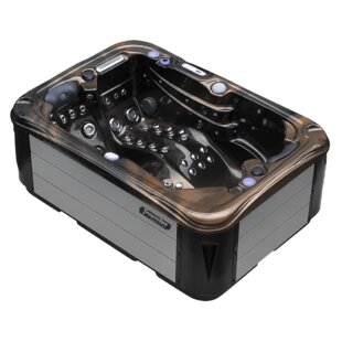 Tropic Spa Hurricane 2-Person 58-Jet Spa with LED Lights, Bluetooth and Wi-Fi