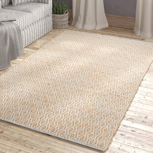 Shop For Kellar Hand-Woven Silver/Natural Area Rug ByBeachcrest Home