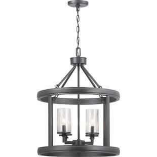 Williston Forge Proper 4-Light Lantern Chandelier