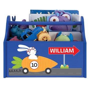 Kloss Racing Rabbit Caddy Personalized Toy Organizer ByZoomie Kids