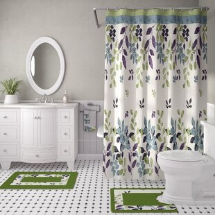 Price Check Candyce 18 Piece Shower Curtain Set By Red Barrel Studio