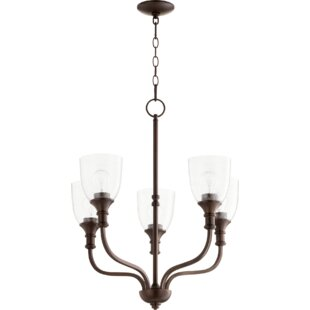 Falbo 5-Light Shaded Chandelier by Charlton Home