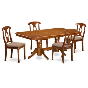 Pillsbury Traditional 5 Piece Dining Set August Grove