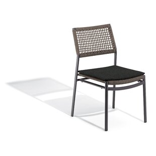 Campagna Stacking Patio Dining Chair with Cushion