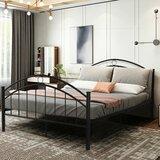 Hundt Queen Platform Bed by Red Barrel Studio®