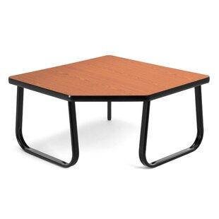 OFM Corner Table with Sled Base